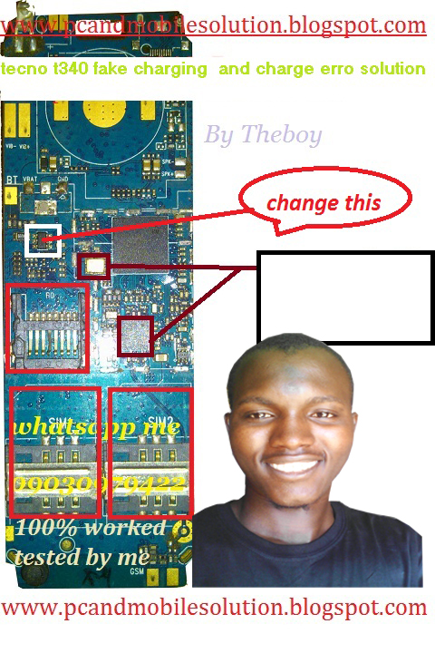Tecno W2 Charging Solution