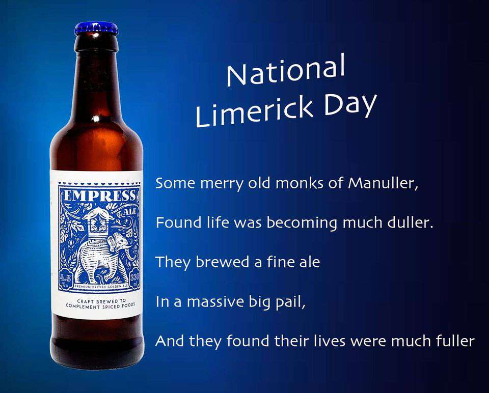 National Limerick Day Wishes Sweet Images