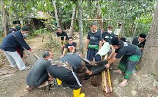 Ansor Banser Bersama Ormas Lain, Menggelar Kurban Untuk Masyarakat