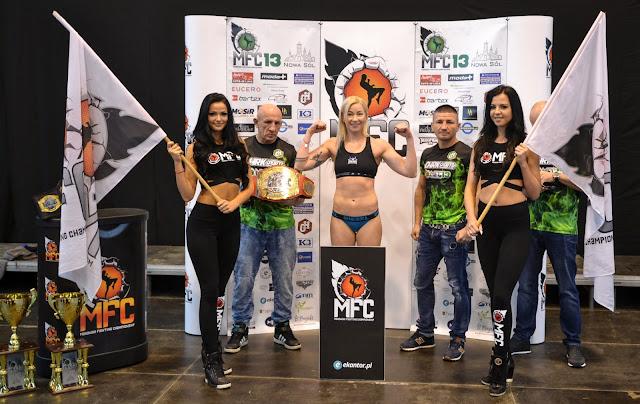 MFC 13, Nowa Sól, Pas Mistrzowski, Emilia Czerwińska, Chellina Chirino, K-1,Holandia, sport, walka kobiet