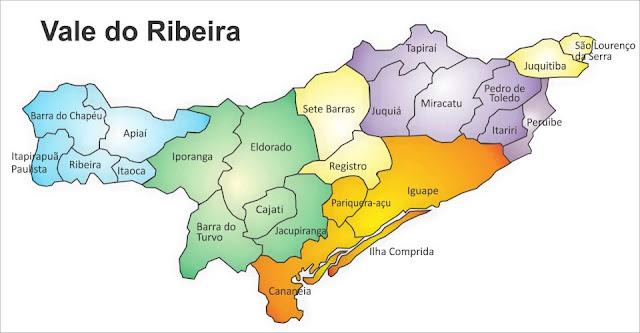 Vale do Ribeira - ilustração cartunista Sesary