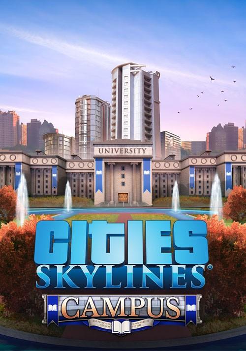 Cities Skylines Campus PC ESPAÑOL (CODEX) 1