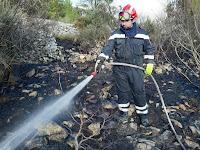 požari Novo Selo slike otok Brač Online
