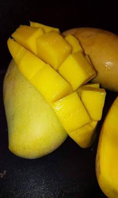 Warna Isi Mangga Perlis Sunshine