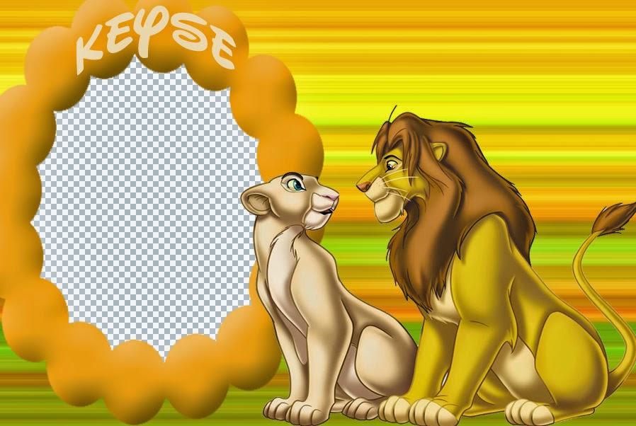 Rey León: Tarjetas, Fondos o Invitaciones para Descargar Gratis.