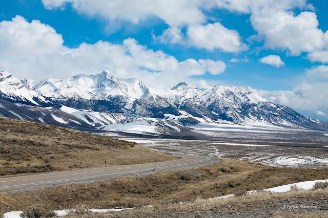 Borah Peak Idaho geology earthquake fault scarp travel trail hiking climbing copyright RocDocTravel.com
