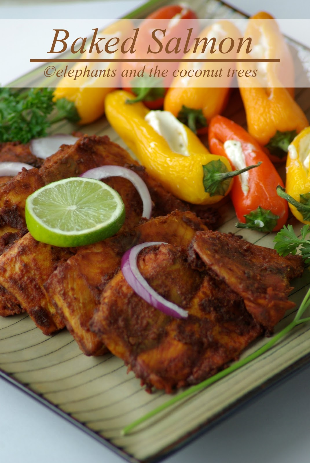 elephants and the coconut trees: Baked Salmon / Baked fish ...