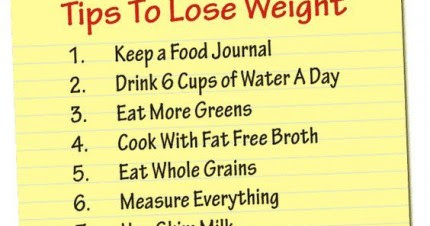 The Easy Tips to Lose Weight