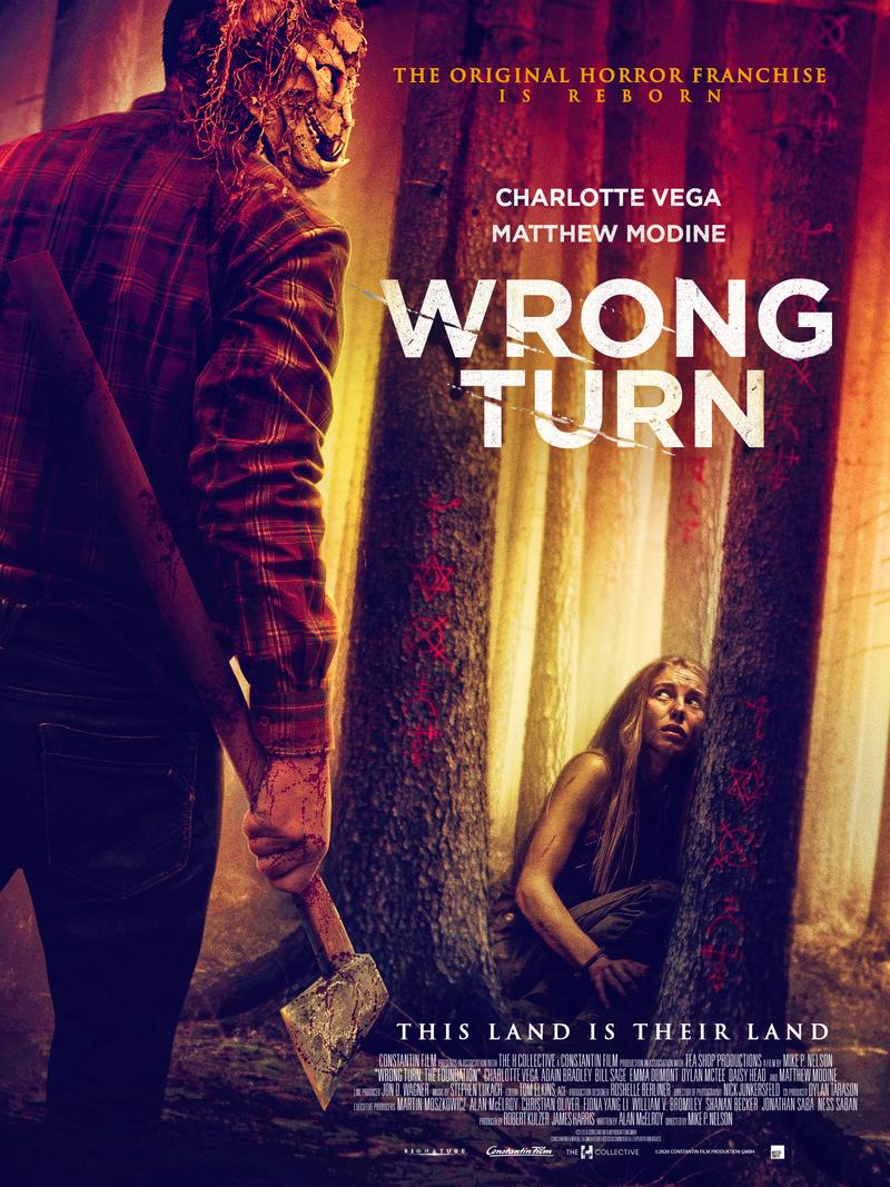 wrong turn 2021 poster