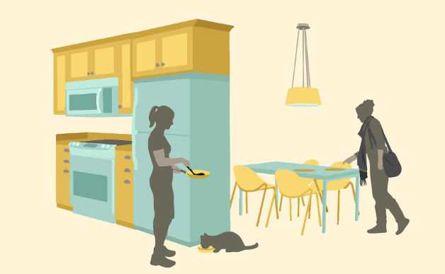 5 Rules for Decorating Living With Roommates