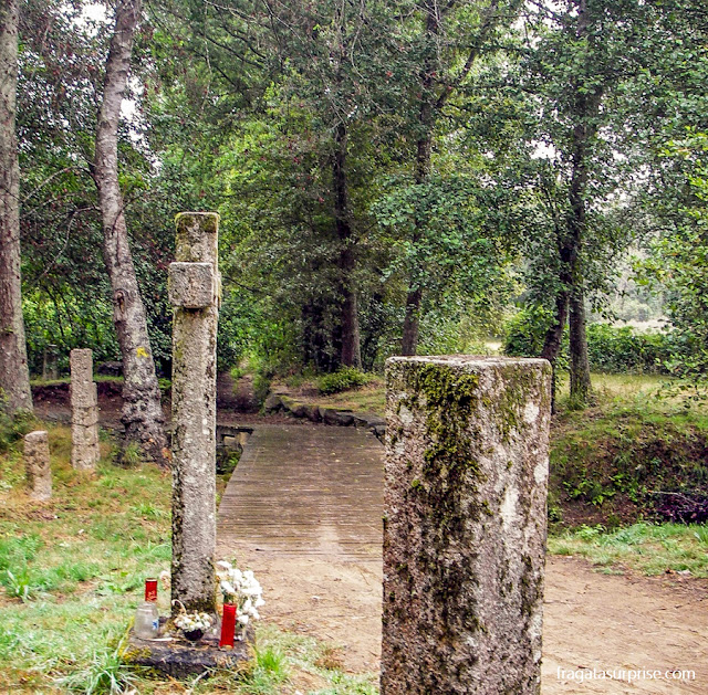Ponte das Febres, Vale do Rio Louro, no Caminho de Santiago