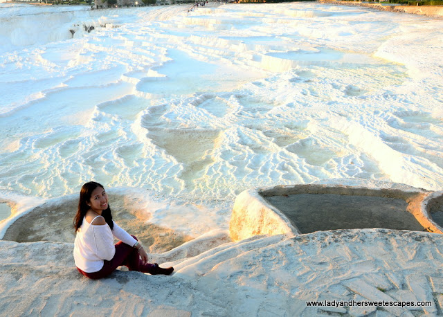 waiting for sunset in Pamukkale