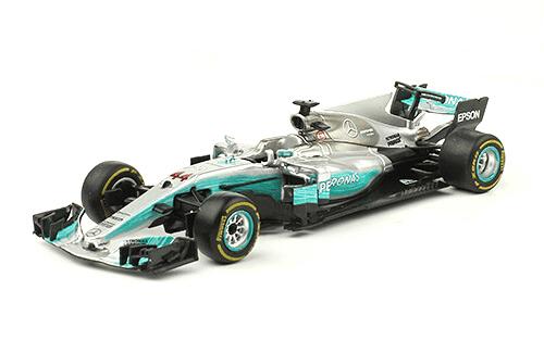 Mercedes W08 EQ Power 2017 Lewis Hamilton f1 the car collection