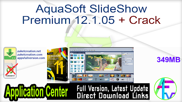 AquaSoft SlideShow Premium 12.1.05 + Crack