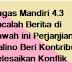 Tugas Mandiri 4.3 Bacalah Berita di Bawah ini Perjanjian Malino Beri Kontribusi Selesaikan Konflik