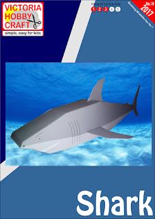 PAPERTOYS SHARK (HIU)