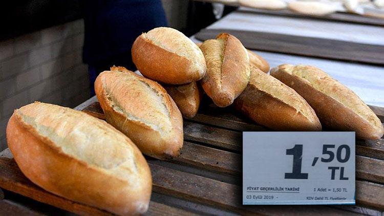 Mudurnu'da Ekmeğin Fiyatı 1,5 ₺ Oldu