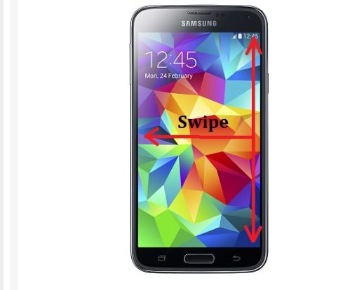 Cara Screenshot Samsung Galaxy S5 3