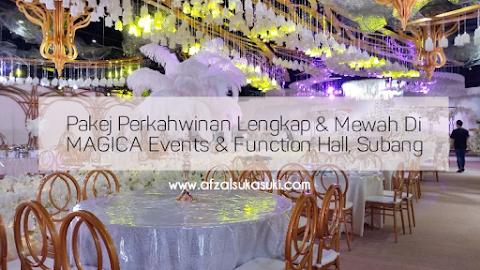 Pakej Perkahwinan Lengkap Dan Mewah Di MAGICA Events & Function Hall, Subang