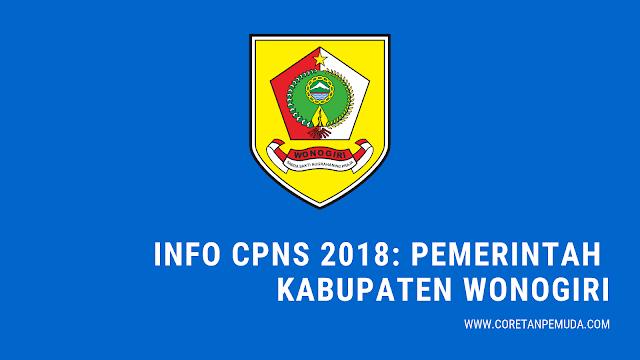 Formasi CPNS 2018 BKD Wonogiri