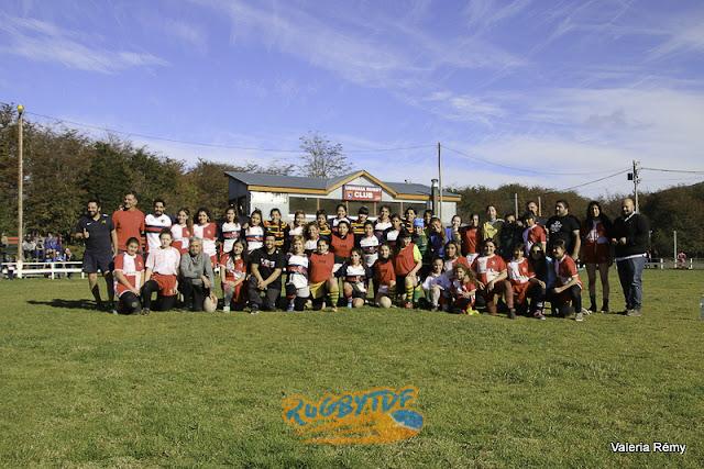 El primer encuentro de rugby femenino fue un éxito