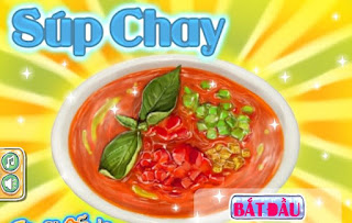 Game học nấu súp chạy hấp dẫn