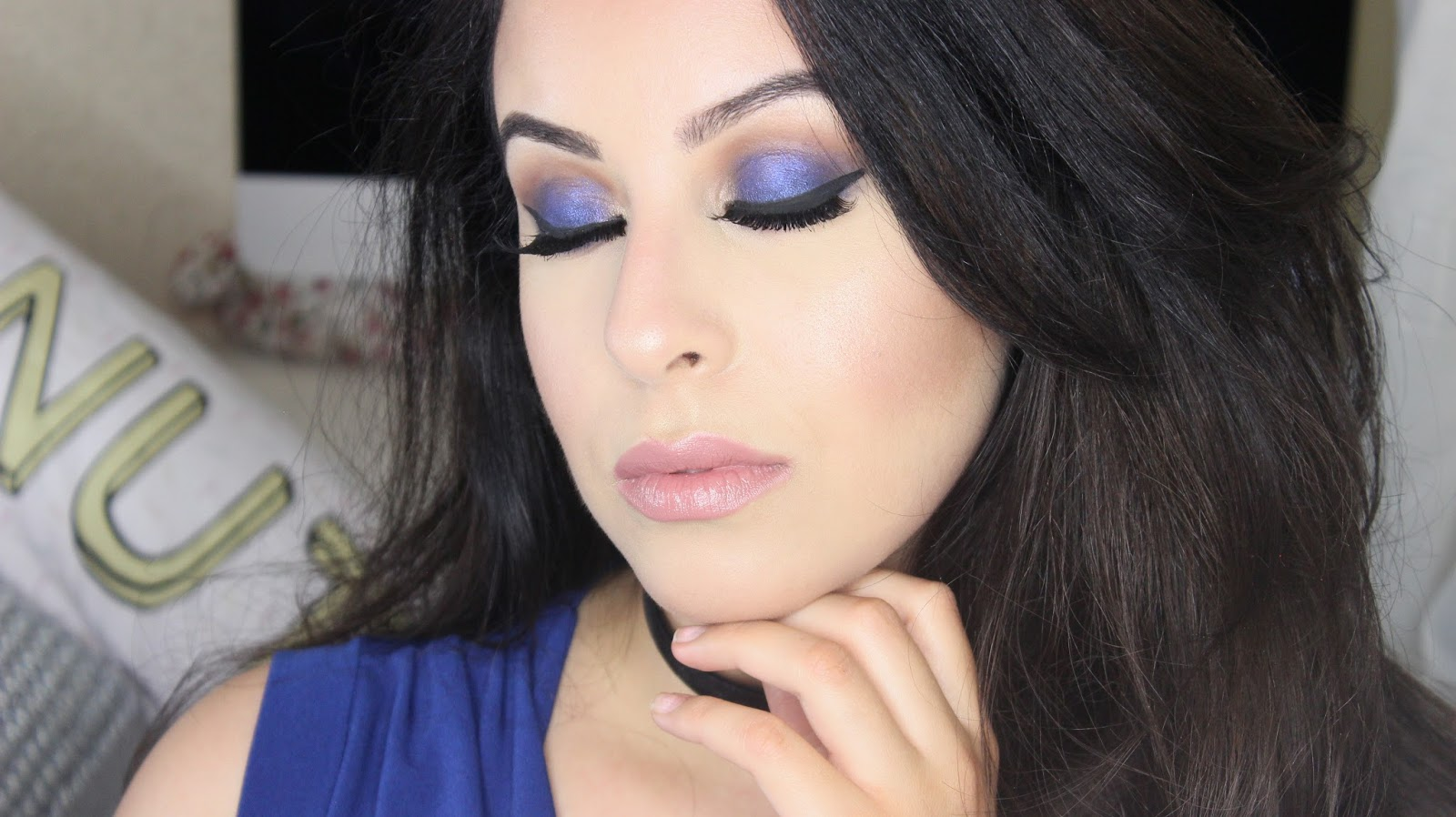 Navy Blue Eye Makeup Makeupgeek Cosmetics Youtube Video Beauty