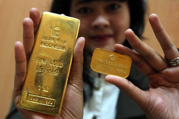 harga emas hari ini jumat 23 oktober 2020