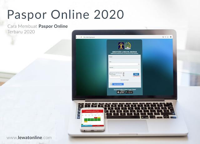 Cara Membuat Paspor Online Terbaru 2020