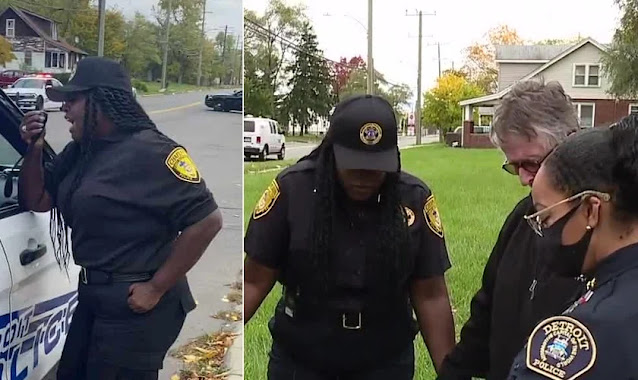 """Policial vai às ruas para orar por sua cidade nos EUA: """"Precisamos de Deus"""""""