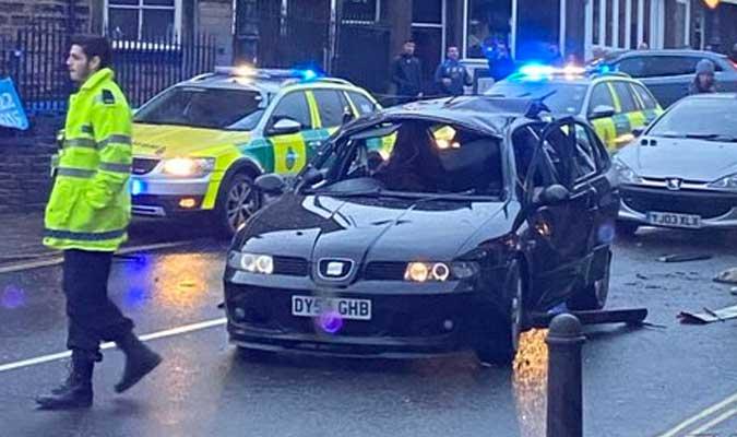 mobil meledak karena pengharum botol