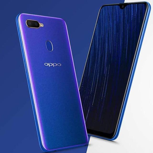 Desain Oppo A5S