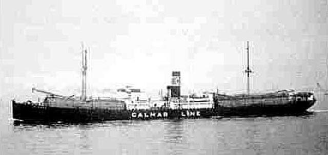 US tanker Oakmar, sunk on 20 March 1942 worldwartwo.filminspector.com