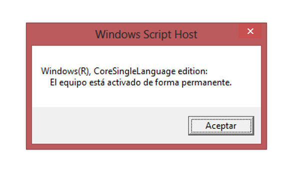 Trucos Windows 8: ¿Cómo saber si la activación de Windows 8 es permanente?