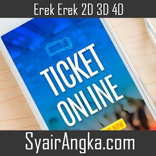 Erek Erek Mimpi Meretas Situs Tiket Online Di Buku Mimpi 2D 3D 4D