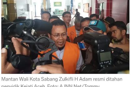 Kapaloe! Kasuih Thôn 2012, Bunoe Mantan Walikota Sabang Ka Jisak Lam Peunjara