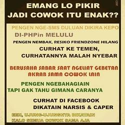 DP Curhatan Cowok Lucu