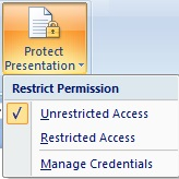 Review Tab PowerPoint Complete Information