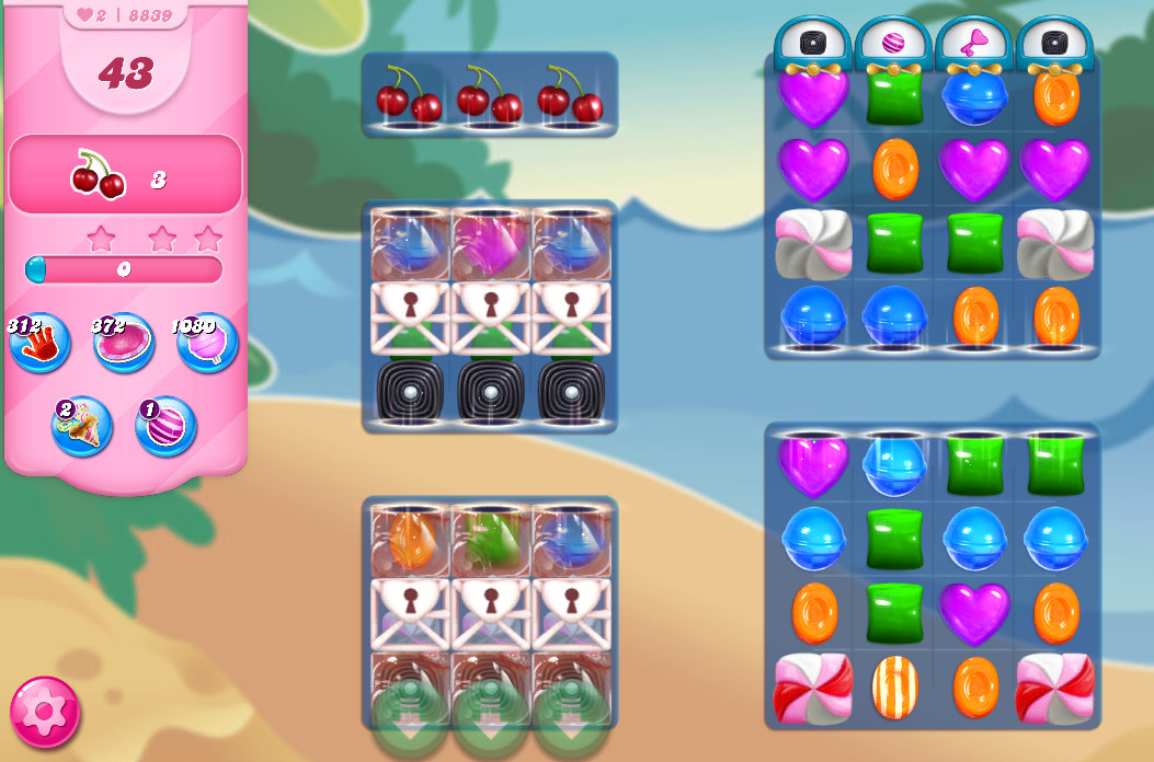 Candy Crush Saga level 8839