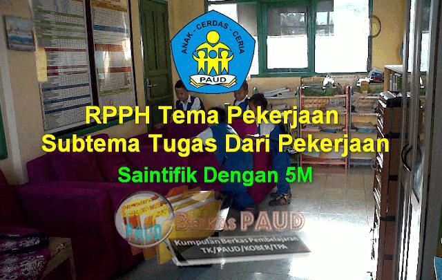 RPPH Tema Pekerjaan Subtema Tugas Dari Pekerjaan