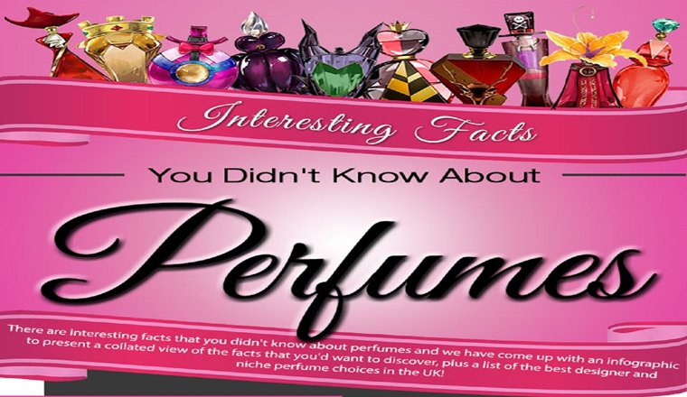 8 Interesting Facts You Didn't Know About Perfumes #infographic