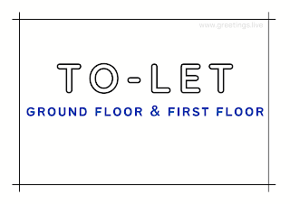 Tolet board ground floor and first floor A4 Size images free download