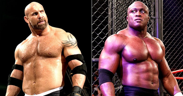 SummerSlam WWE Title Goldberg MVP Lashley