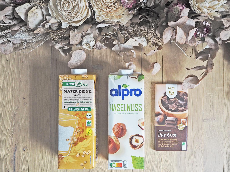 Vegan kochen, Milch ersetzen und vegane (heiße) Schokolade