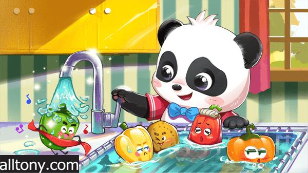 تحميل لعبة عالم صغير الباندا BabyBus للأيفون والأندرويد APK