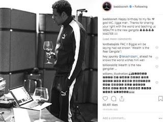 Olamide badoo Instagram