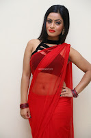 Aasma Syed in Red Saree Sleeveless Black Choli Spicy Pics ~  Exclusive Celebrities Galleries 067.jpg