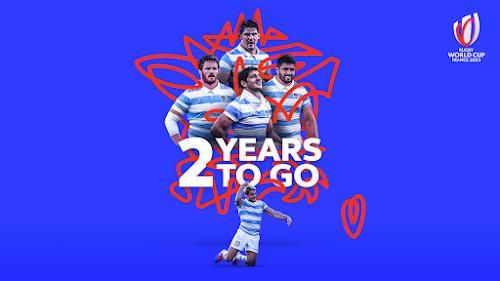 Faltan dos años para el comienzo del Mundial #France2023 #RWC2023