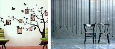 Idee per decorare le pareti trend hub for Decorare muro stanza