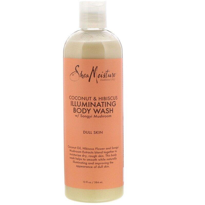 SheaMoisture, Coconut & Hibiscus, Illuminating Body Wash, 13 fl oz (384 ml)